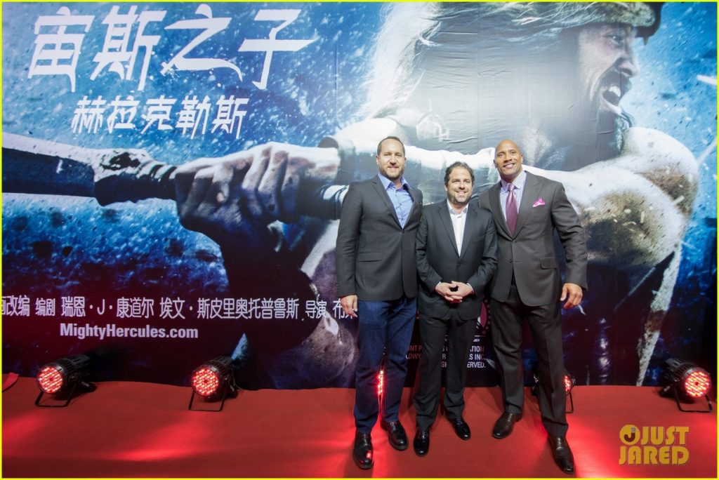 The Rock in Cina